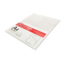 晨光(M&G)文具A4透明硬质卡片袋 硬胶套单片夹PP文件袋 资料保护卡片袋文件卡套 10个装ADM95187
