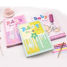 广博(GuangBo)6寸相册影集本子宝宝成长纪念册插袋式相簿 单本装颜色随机
