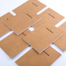 广博(GuangBo)A5牛皮纸记事本子日记本 办公软抄本 40张10本装