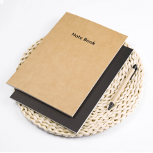 广博(GuangBo)16K特种牛皮纸笔记本子记事本日记本软抄本6本装60张混色