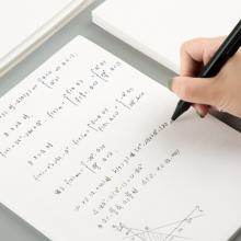 广博(GuangBo)B5草稿纸空白数学草稿本学生考试本子 10本装40张