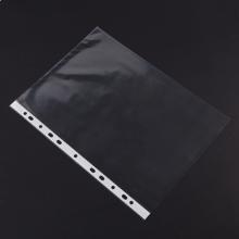 广博(GuangBo)100只装 11孔资料册文件袋 替芯袋保护袋 搭配孔夹快劳夹使用