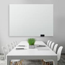广博 (GuangBo) 150*100cm磁性钢化玻璃白板 抗划书写顺畅教学会议写字板