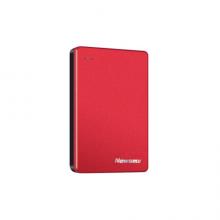 纽曼(Newsmy)480GB Type-c USB3.1固态移动硬盘(PSSD)小清风金属版1.8英寸 东方红