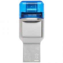 金士顿(Kingston)USB 3.1 TF(Micro SD)双接口读卡器(FCR-ML3C)