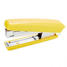 益而高(EaGLE)卓越型订书机 凹点省力防滑按手 尾部附带起钉器 可钉入10页纸 颜色随机