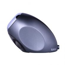 益而高(EaGLE)滚刀式电动削笔器电动卷笔刀 USB接口供电 黑色
