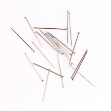 益而高(EaGLE)经济装大头针 24mm定位针 优质钢材 50g/盒 办公用品