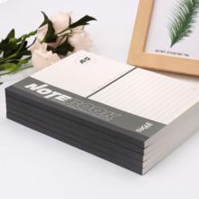 益而高(EAGLE)A5记事本 学生笔记本软抄本 会议记录本 彩色日记本 100页/5本装 6305 颜色随机