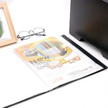 益而高(EaGLE)80页A4资料册 耐用插袋文件册活页文件夹办公用品 单只装 颜色随机 9008AK/2