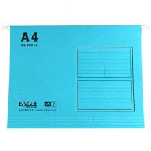 益而高(EaGLE)40个装 A4挂快劳纸质吊快劳 文具吊挂夹档案分类夹 颜色随机 9351A