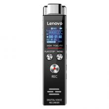 联想(Lenovo)录音笔B613 8G专业微型高清远距无损录音降噪便携录音器 学习培训商务会议采访铁灰色