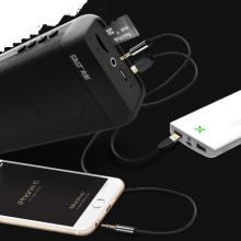 先科(SAST)A9红 蓝牙迷你音箱无线音响便携式无线户外手机电脑微信收款扩音器低音炮小音响