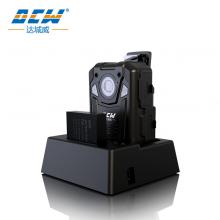 达城威(DCW)DSJ-D11执法记录仪1296P高清夜视便携式现场安保记录仪 更换电池不中断录像 内置128G