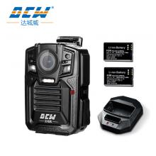 达城威DSJ-D7专业执法记录仪2160p高清夜视IP68级防护可拆卸2块电池续航13小时(32G)