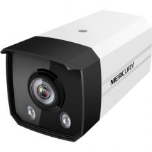 MERCURY 水星 摄像头H.265+室外筒型枪机PoE红外夜视黑光全彩高清监控设备摄像机 200万黑光镜头-4mm焦距
