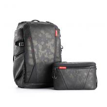 PGYTECH 摄影包双肩包单反相机包OneMo无人机收纳包背包单肩包户外摄影腰包 OneMo摄影包25L+单肩包(迷彩金)