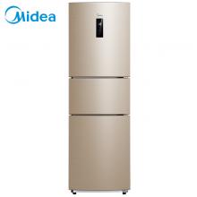 美的(Midea)258升 三门冰箱家用一级能效节能省电双变频风冷无霜电冰箱小智能变温 BCD-258WTPZM(E)