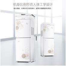 美的(Midea)饮水机 立式办公温热型双封闭门防尘大储物柜饮水器YR1226S-W