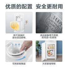 美的(Midea)饮水机 立式办公温热型多重防干烧大储物柜饮水器MYR718S-X