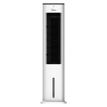 美的(Midea)电风扇空调扇冷风扇水风扇遥控式可定时落地扇ACA10XBR家用商用