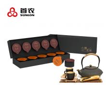 三元福萃 小罐茶·茶礼 金骏眉+茉莉花+铁观音+碧螺春 20罐 988元