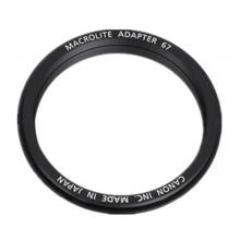 佳能(Canon) 微距环闪转接环67mm原装正品MR-14EX II/MT-24EX适配器