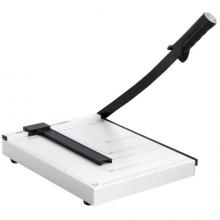 得力(deli)8014 钢质切纸机/切纸刀/裁纸刀/裁纸机 钢制底座 可切A4纸