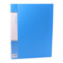 欧标(MATE-IST)A4资料册插袋文件册活页文件夹档案夹B1974 深蓝色 40页