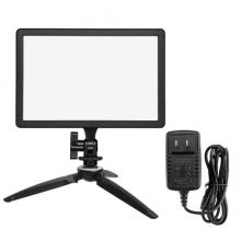 金贝(JINBEI)EF-12LED摄影摄像灯小型便携直播灯单反相机外拍灯桌面静物拍照灯手持常亮拍摄补光灯 B套装
