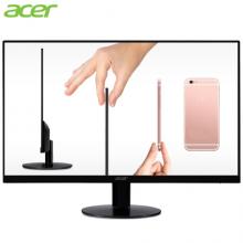 宏碁(Acer)纤锋21.5英寸IPS窄边框纤薄机身1080P全高清爱眼不闪屏显示器 显示屏(HDMI)SA220Q A