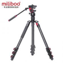 miliboo米泊MUFB-BK碳纤维液压阻尼轻型专业摄影摄像三脚架