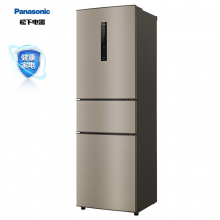 松下(Panasonic)318升冰箱三门 自动制冰 变频无霜风冷家用抗菌除味 NR-C31PX3-NL(NR-C33PX3-NL)
