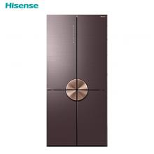 海信(Hisense)璀璨C1系列 563L十字对开门冰箱 真空保鲜 杀菌净味 干湿分储BCD-563WTDGVBPIVC1