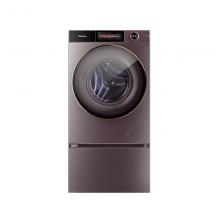 海信(Hisense)璀璨系列10公斤变频滚筒洗衣机 免熨除菌超薄 自动投放 离子蒸烫洗DD直驱变频XQG100-BH148DC1
