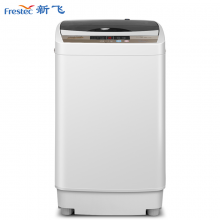 新飞(Frestec)6KG全自动波轮洗衣机 8程序8水位 一键快洗 一键桶风干 XQB60-1806D