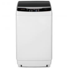 新飞(Frestec)9公斤全自动波轮洗衣机 自编程仿手搓洗 模糊控制 8程序 8水位(透明黑) XQB90-1806D