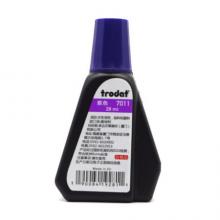卓达(trodat)7011 回墨印油 卓达印章专用印油 印章 公章印台印油 28ml 芯片章印油 紫色