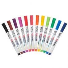 晨光(M&G)文具12色彩色白板笔 儿童绘画涂鸦记号笔 易擦会议笔 12支装AWMY2302