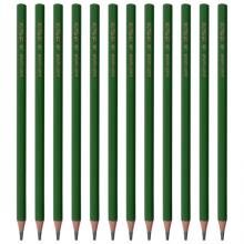晨光(M&G)文具学生绿杆2B铅笔 考试木杆铅笔 绘图书写铅笔 12支/盒AWP30464