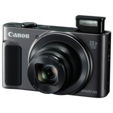 佳能(Canon)PowerShot SX620 HS 数码相机 黑色 2020万像素 25倍变焦