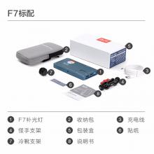 锐鹰F7补光灯led摄影灯RGB全彩特效口袋柔光视频灯便携摄影摄像影视外拍灯单反相机补光灯 F7(标配)