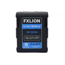 方向华信 MINI电池 BP-M200 V口电池 广播级 14.8V  FXLION 黑色