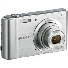 索尼(SONY) DSC-W800 便携数码相机/照相机/卡片机 银色(约2010万像素 5倍光学变焦 2.7英寸屏 26mm广角)
