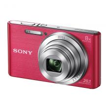 索尼(SONY) DSC-W830 便携数码相机/照相机/卡片机 粉色(约2010万有效像素 8倍光学变焦 25mm广角 )