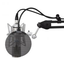 Alctron/爱克创 MA019B话筒防喷罩,金属防喷罩录音防喷网口水罩