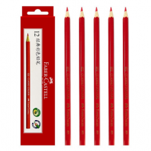 德国辉柏嘉(Faber-castell)油性彩铅 单色彩铅 12只装 大红色321
