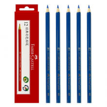 德国辉柏嘉(Faber-castell)油性彩铅 单色彩铅  12只装 普蓝色351