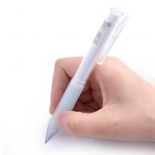 晨光(M&G)文具 按动考试专用中性笔 可爱创意简约大学生用水笔黑色 AGPH5201 AGPH5201笔杆混色(黑芯)/10支盒装