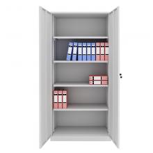 铁皮柜子财务凭证柜储物柜办公柜子 加厚档案柜资料柜办公室柜带锁柜铁柜落地柜 1850宽900深390   0.7厚